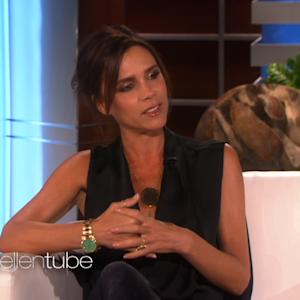 Victoria Beckham Makes Rare Television Appearance on 'Ellen'