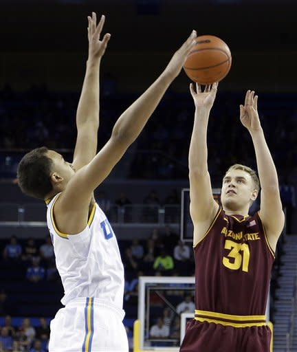 UCLA holds off Arizona State 79-74 in overtime