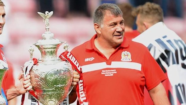 Shaun Wane earned a second contract extension in a week following Wigan's win