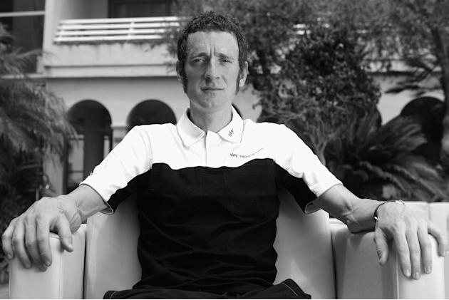 Team Sky Pro Cycling: Bradley Wiggins Pre-Tour de France Media Day