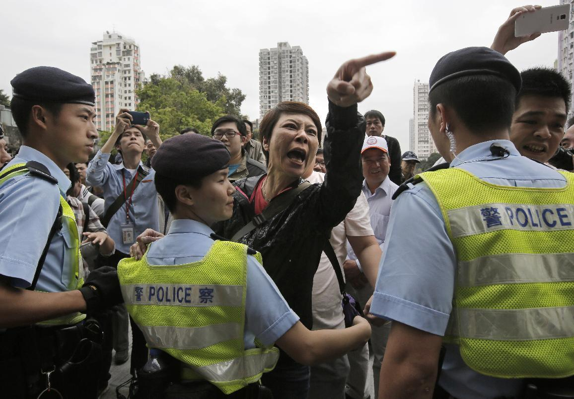 Chinese shoppers latest target of Hong Kong protest anger