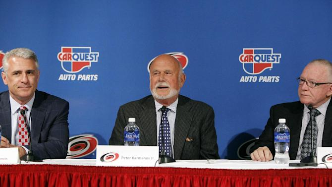 Ron Francis takes over as Hurricanes GM