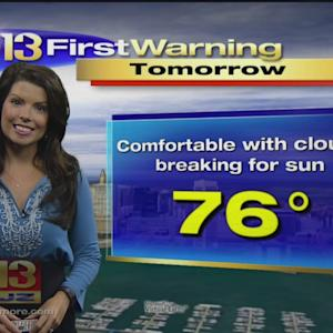Chelsea Ingram Has Your Tuesday Afternoon Weather Forecast