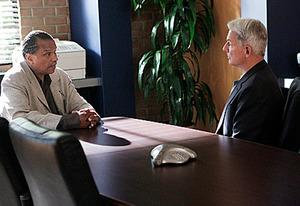 Billy Dee Williams, Mark Harmon | Photo Credits: Cliff Lipson/CBS