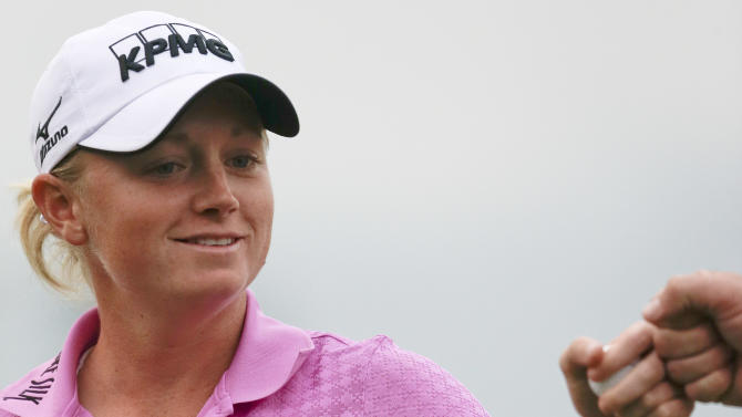 Stacy Lewis leads LPGA Tour team to championship