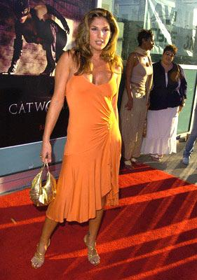 Daisy Fuentes at the Hollywood premiere of Warner Brothers' Catwoman