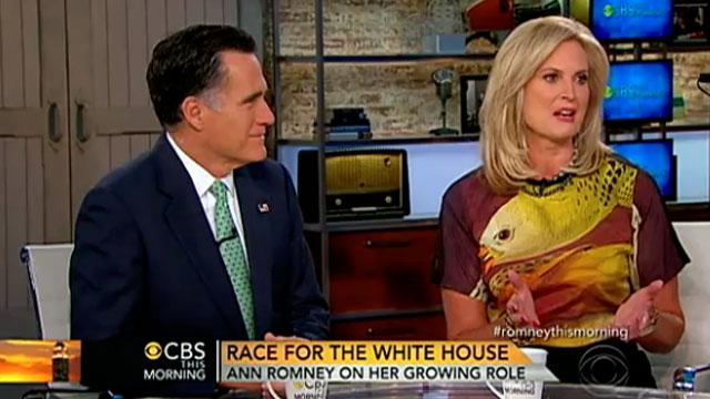 Designer of Ann Romney's $1K Shirt Says It's Off The Rack