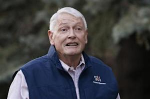 Liberty Media Corp. chairman Malone arrives at annual Allen and Co. conference at Sun Valley