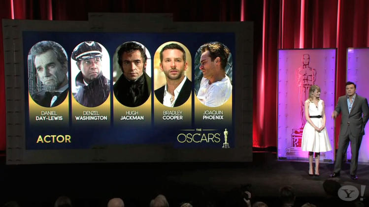 Oscar Nominations: Best Actor