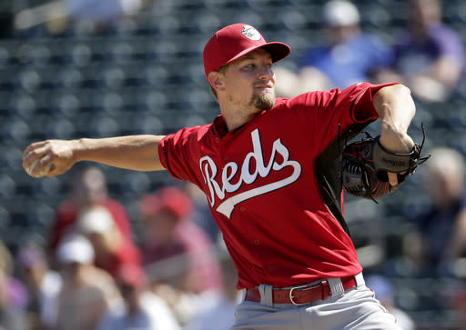 Reds' rotation is focal point as they try to bounce back