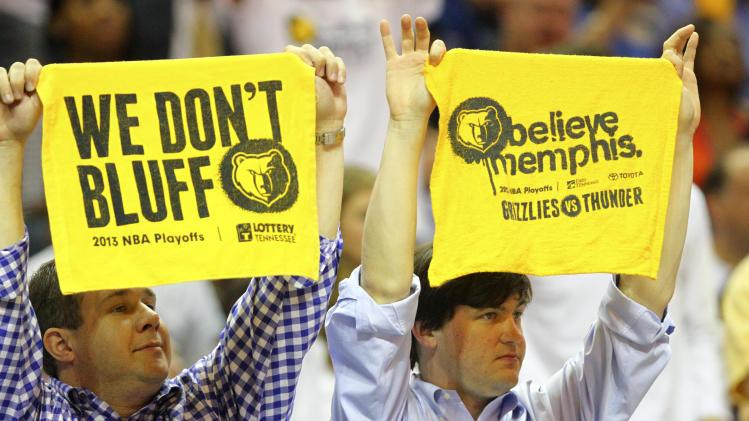 NBA: Playoffs-Oklahoma City Thunder at Memphis Grizzlies