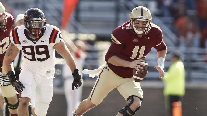 Eagles capitalize on TOs in 34-27 win over Hokies