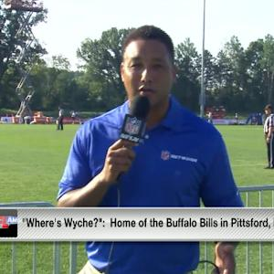 Inside look at Buffalo Bills training camp with Steve Wyche
