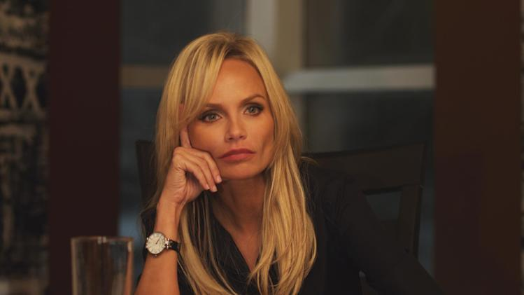 "This publicity photo released by ARC Entertainment shows Kristin Chenoweth as Samantha Smith-Dungy in a scene from the film, ""Family Weekend."" The film releases Friday, March 29, 2013. (AP Photo/ARC Entertainment)"