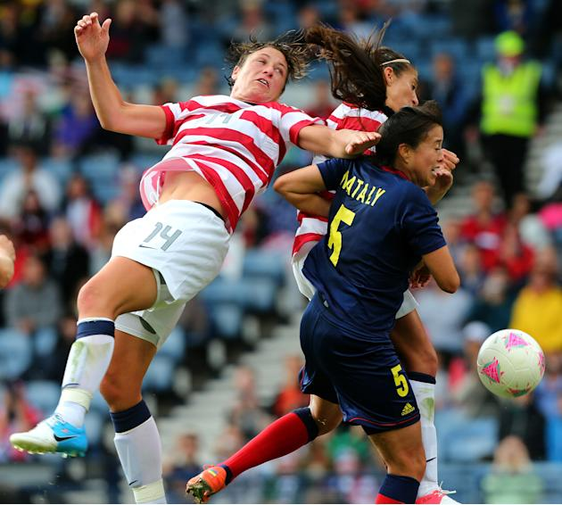 Olympics Day 1 - Women's Football - USA v Colombia