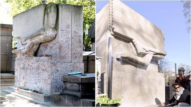 No More Kisses for Oscar Wilde's Tomb