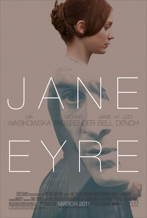 Jane Eyre Focus Features 2011 Mia Wasikowska Poster