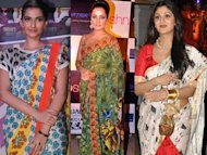 Saree Gets a Trendy Makeover