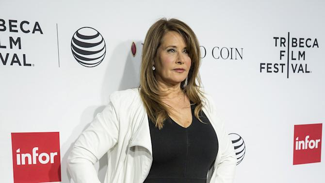 Actress Lorraine Bracco arrives at a screening of the film Goodfellas during the Tribeca Film Festival in New York City