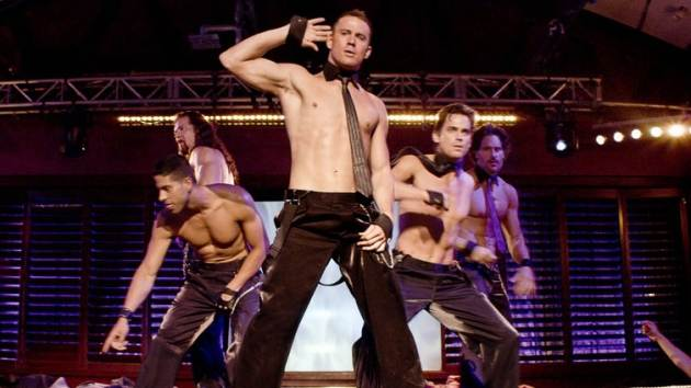Channing Tatum in a scene from 'Magic Mike' -- Warner Bros