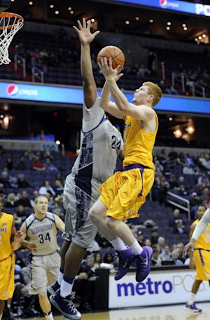 Hoyas fend off Lipscomb for 70-49 win