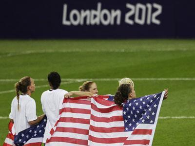 US takes Olympic women's soccer gold