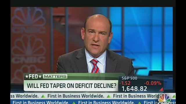 Will Fed Taper on Deficit Decline?