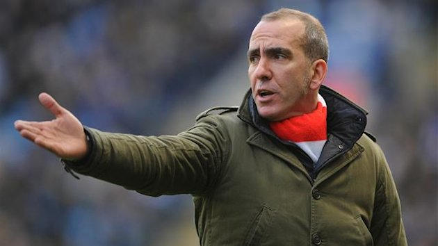 Swindon Town manager Paolo Di Canio