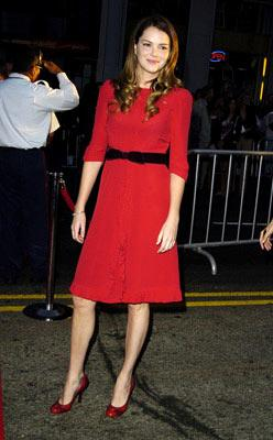 Jacinda Barrett at the Hollywood premiere of Touchstone Pictures' Ladder 49