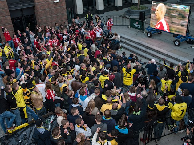 Soccer - UEFA Champions League - Final - Borussia Dortmund v Bayern Munich - Fan Build Up - London