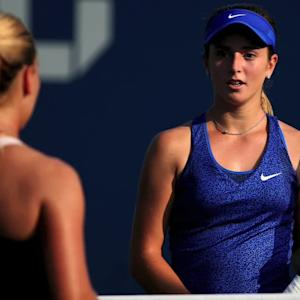 Catherine Bellis becomes youngest winner at U.S. Open since Anna Kournikova