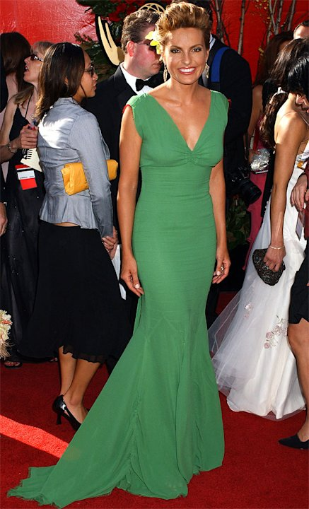Mariska Hargitay at The 56th Annual Primetime Emmy Awards.