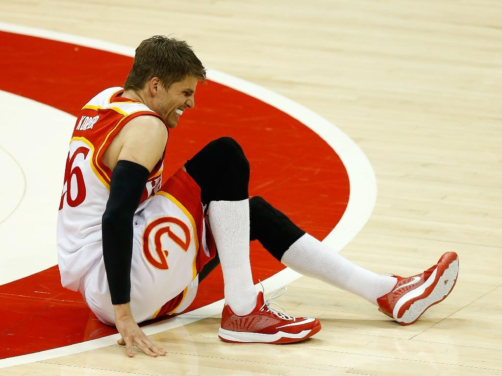 Hawks lose Korver for remainder of playoff run