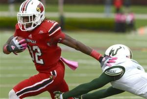 No. 16 Louisville edges South Florida 27-25
