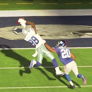 Dallas Cowboys wide receiver Dez Bryant 23-yard reception