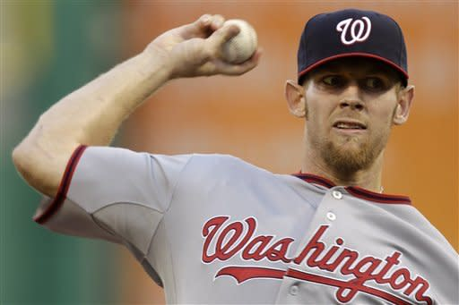 Strasburg fans 13 as Nationals top Pirates 4-2
