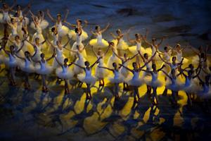 Dancers perform during the Opening Ceremony of XI Paralympic…