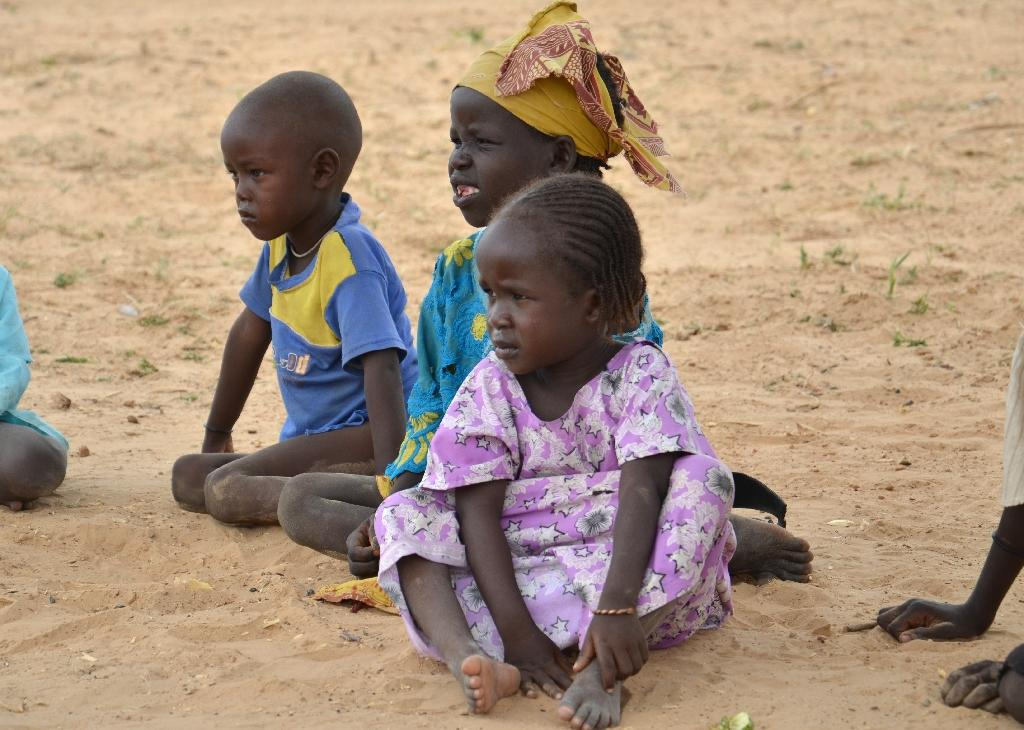 Boko Haram's child victims learn to smile again at Niger camp
