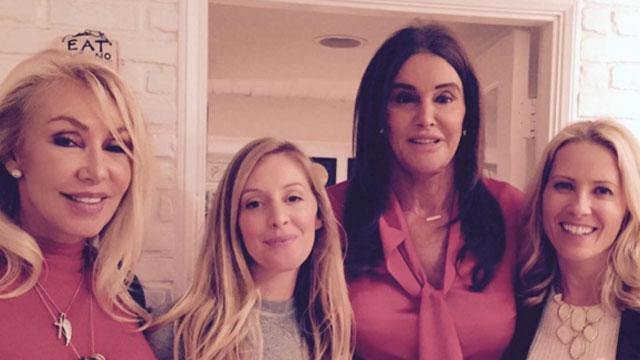 Caitlyn Jenner Spends Thanksgiving With Ex-Wife Linda Thompson