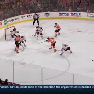 Mike Smith Save on R.J. Umberger (18:52/1st)