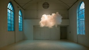 NIMBUS II: Artist Berndnaut Smilde has perfected the art of generating an indoor cloud.