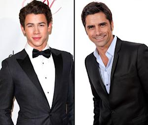 "Nick Jonas Opens Up About ""Dynamite"" Bromance With John Stamos"