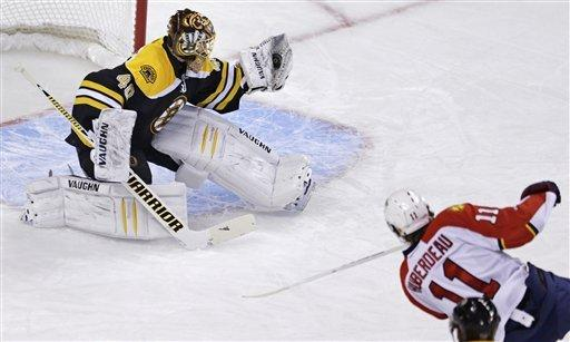 Bruins too much for Panthers 4-1