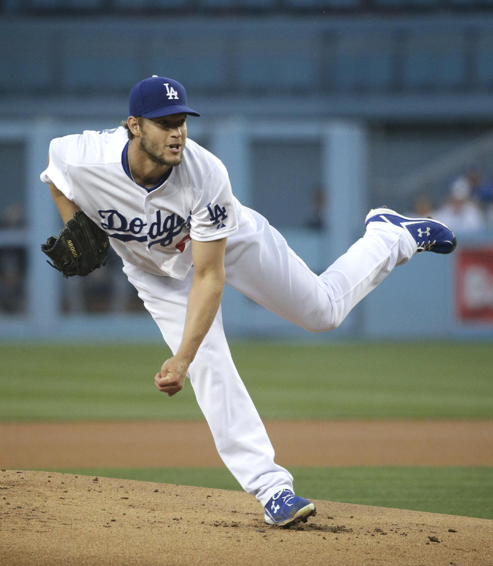 Clayton Kershaw gets 1st win as Dodgers beat Rockies 7-3