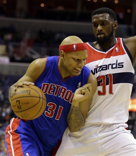 Led by Knight's 32, Pistons beat Wizards 96-95