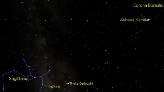 See Two Cosmic Crowns Sparkle In the Night Sky