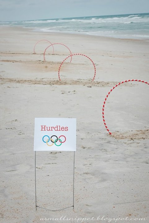 Hoola Hoop Hurdles