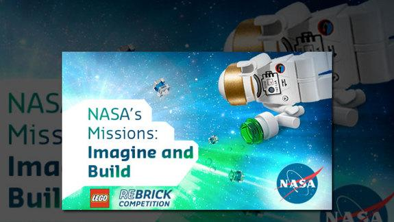 NASA and LEGO Launch Design Contest to Build Future Air and Space Vehicles