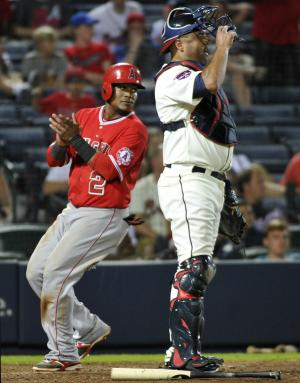 Angels regroup to beat Braves 11-6 in 13 innings