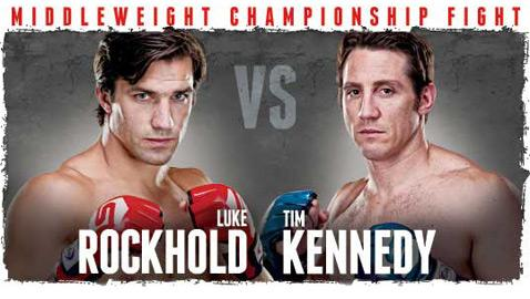 Strikeforce: Rockhold vs. Kennedy Weigh-in Results; Luke Rockhold Slightly Over (UPDATED)
